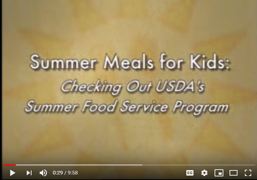 Summer Food Service Program SD Department Of Education