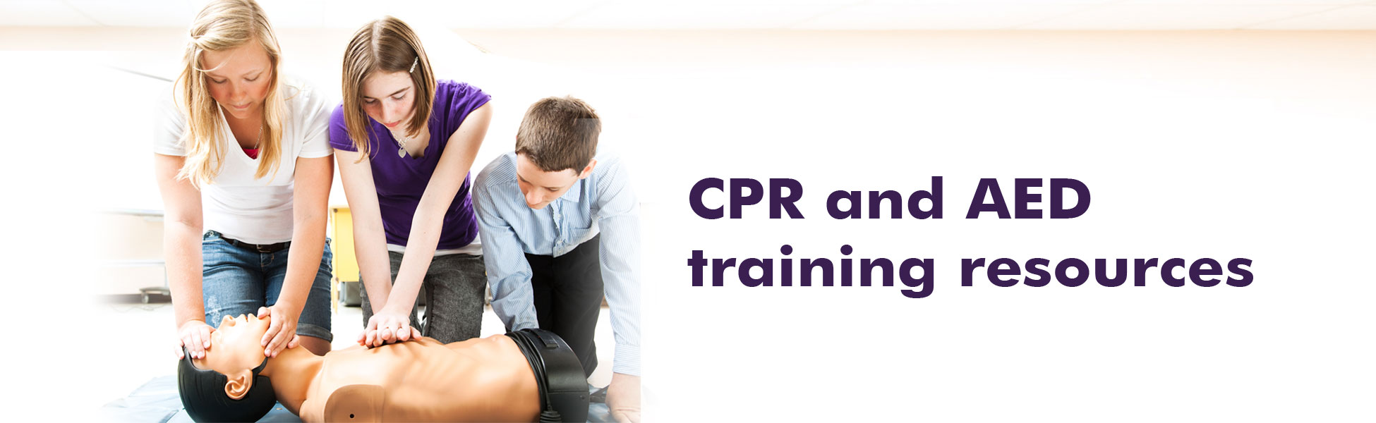 CPR and AED training resources