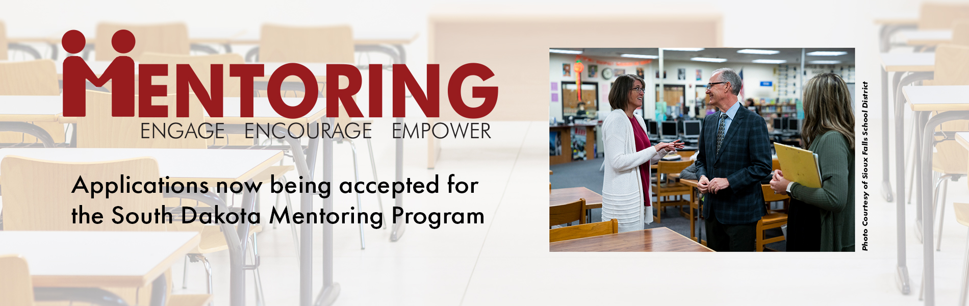 Statewide Mentoring Program. Applications for new mentors are due May 1. Applications for new teachers are due June 16.