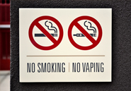 No Smoking. No Vaping
